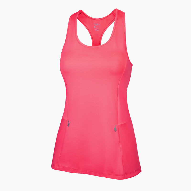 Alana Fitness Vest Neon Pink