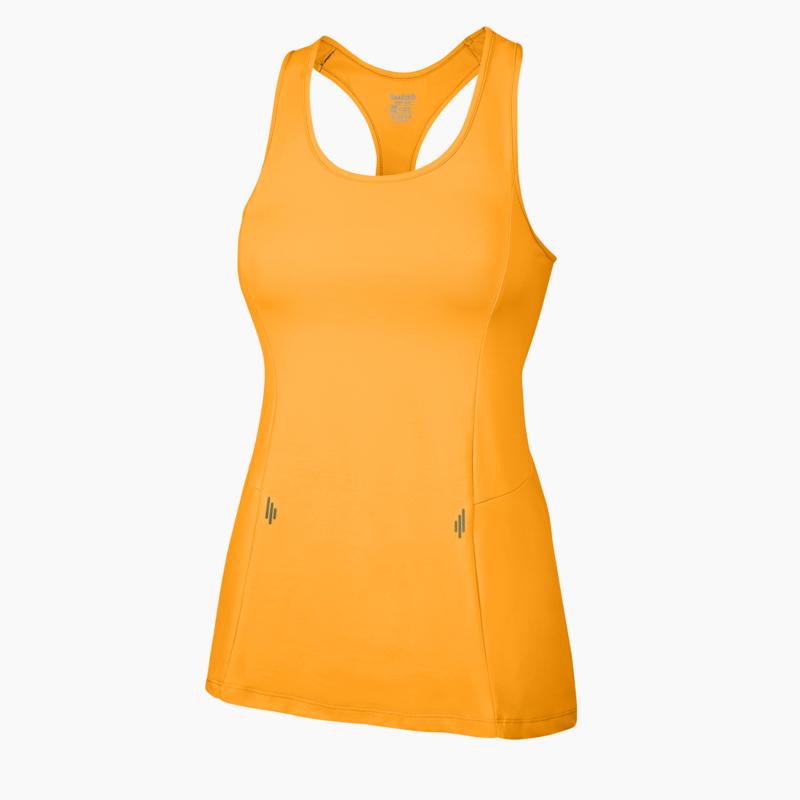 Alana Fitness Vest Brazen Orange