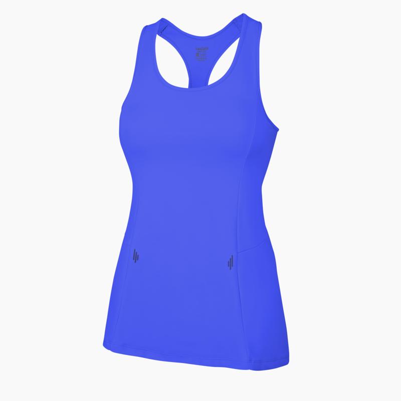 Alana Fitness Vest Strong Blue