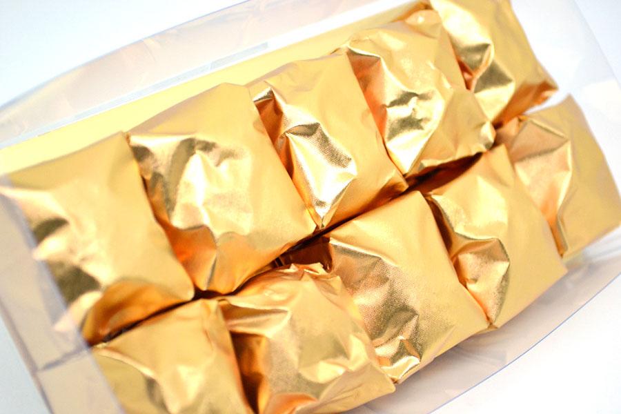 Marrons glacés natures (10 pièces)