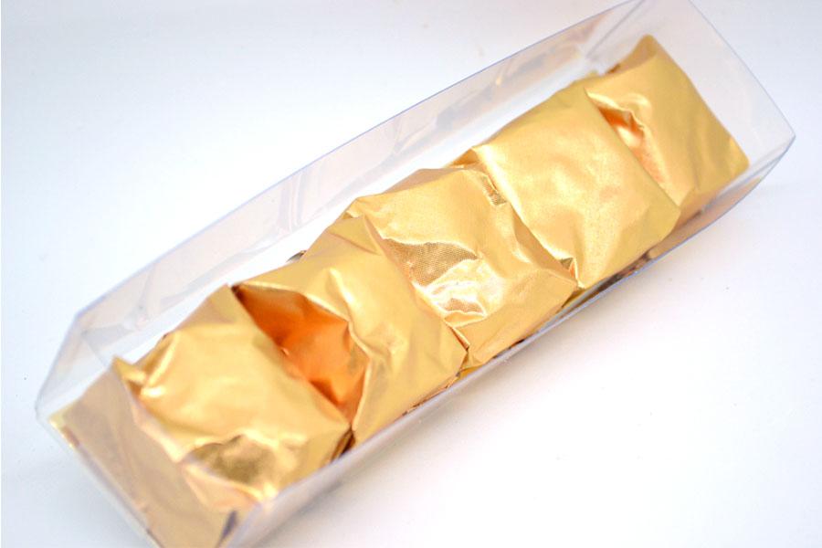 Marrons glacés natures (5 pièces)