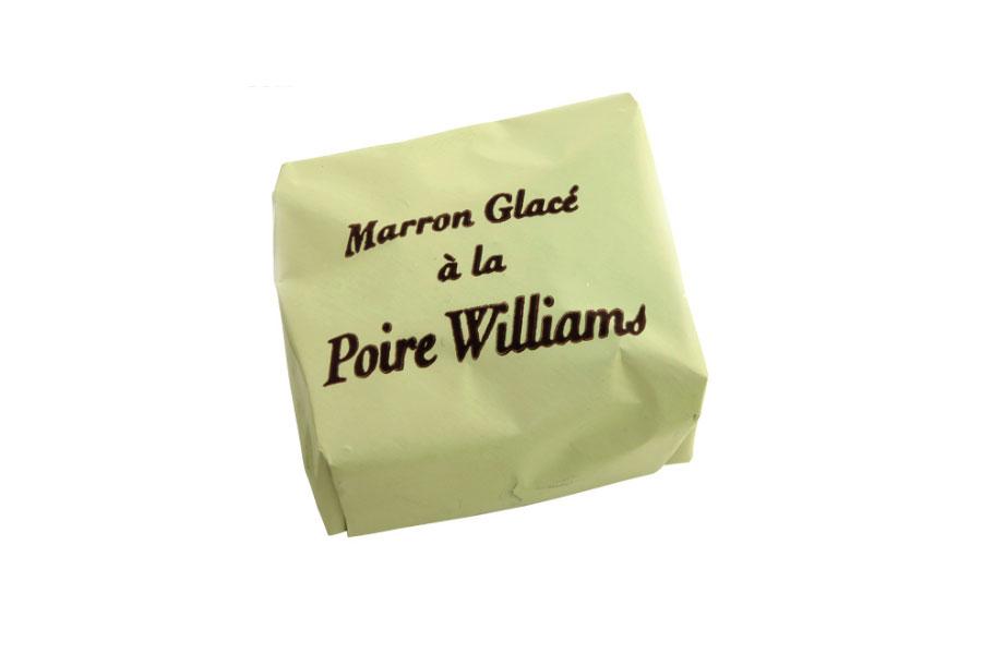 Marron glacé poire