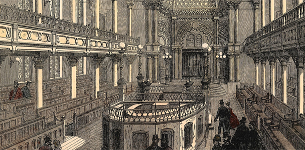 History photo of Central Synagogue
