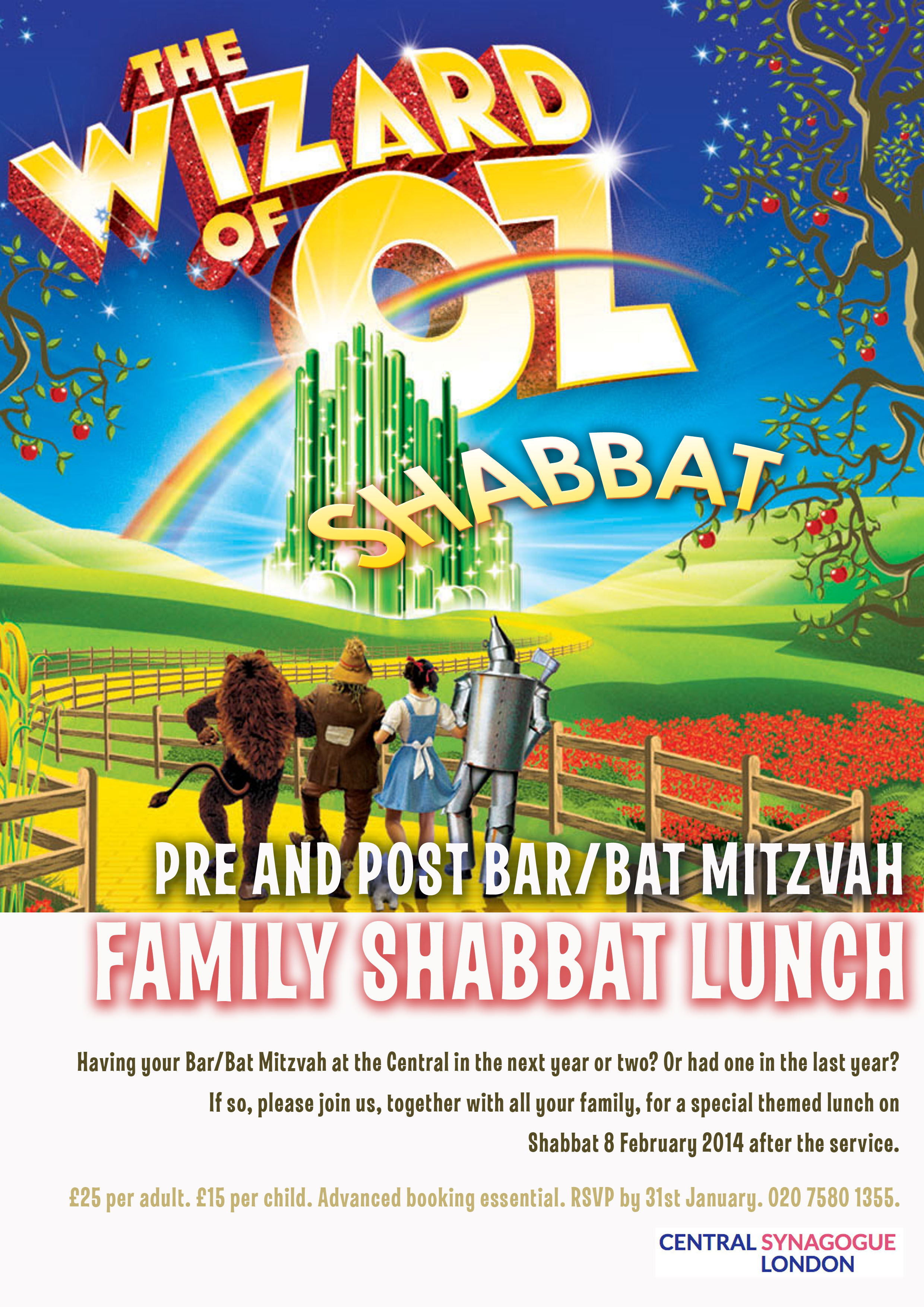 Bar Bat Mitzvah family lunch copy