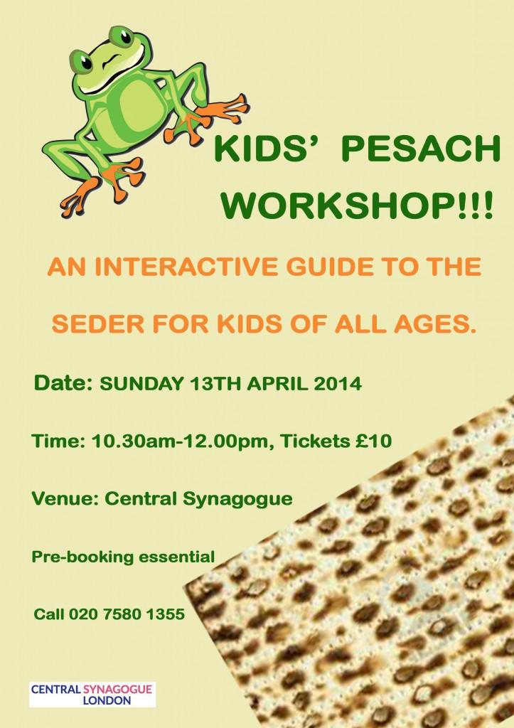 Kids Pesach Workshop