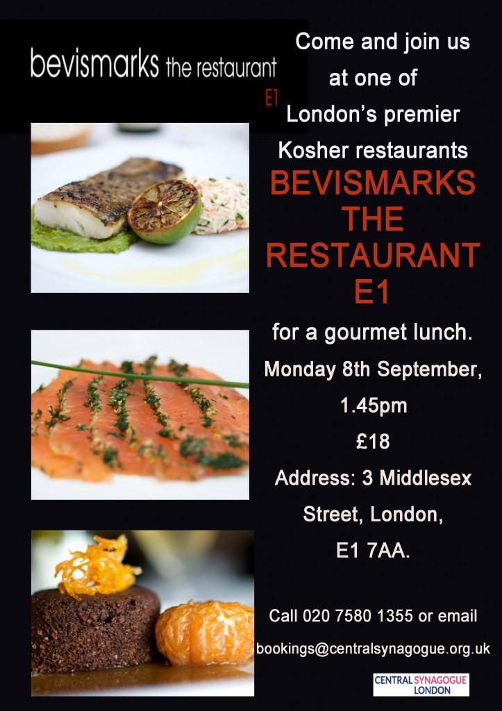 Lunch at Bevismarks Flyer copy