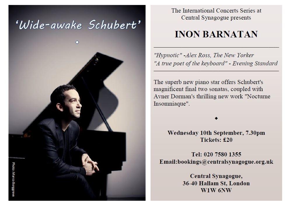 Wide Awake Schubert Final Concert