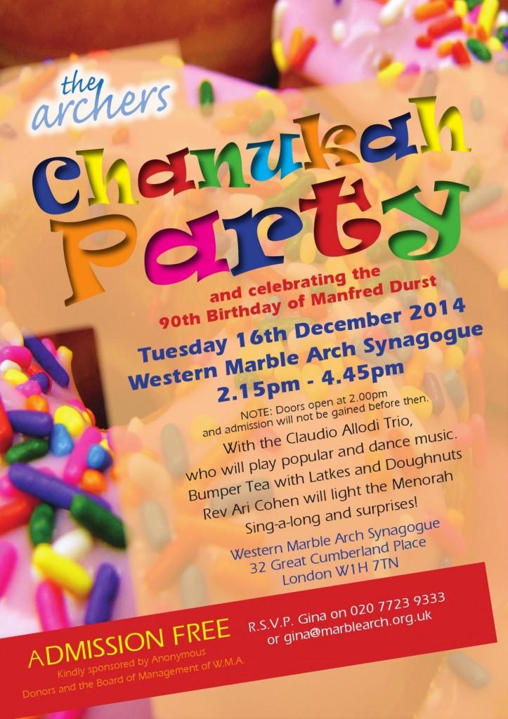 The Archers Chanukah Party