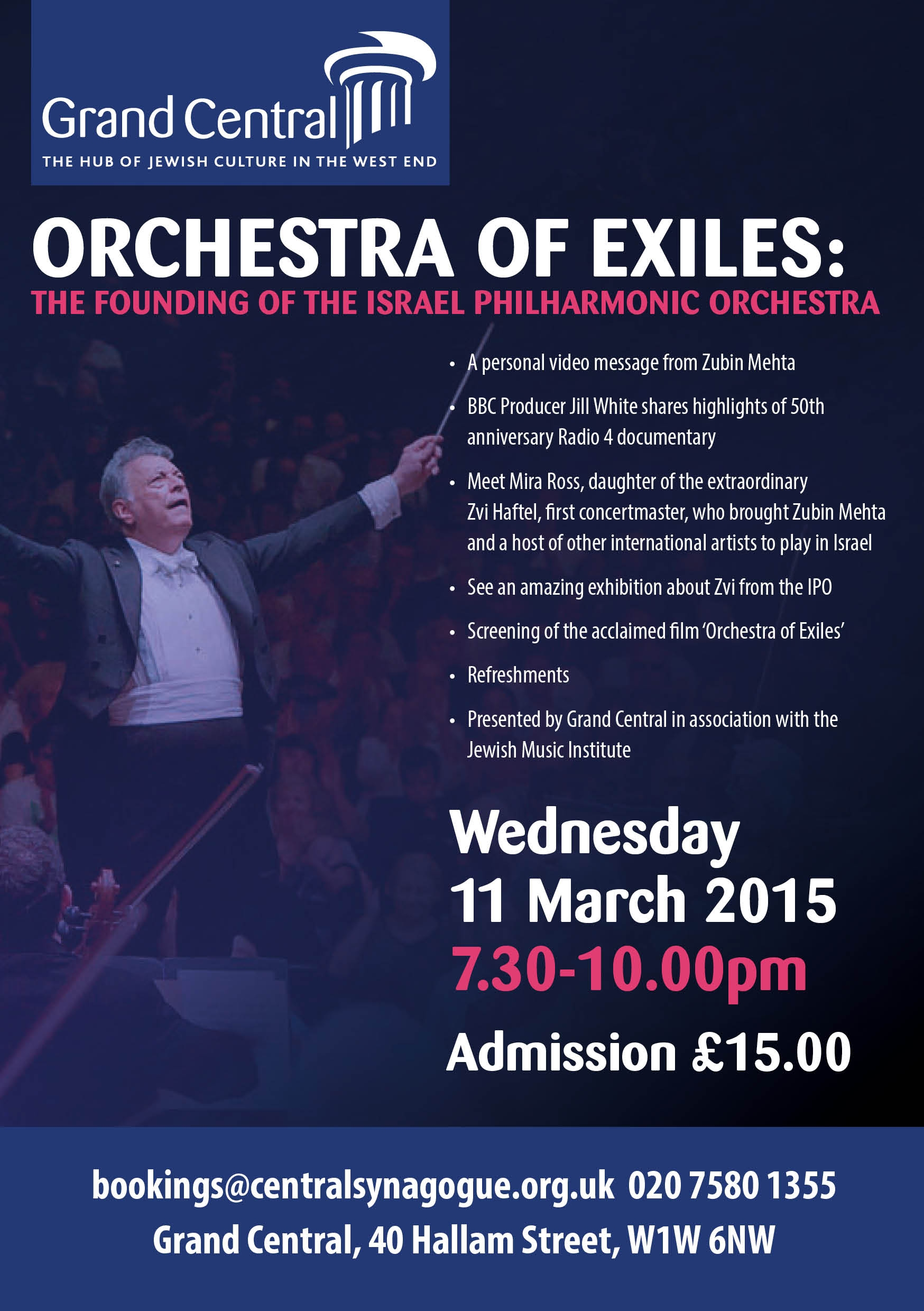ORCHESTRA OF EXILES March 2015