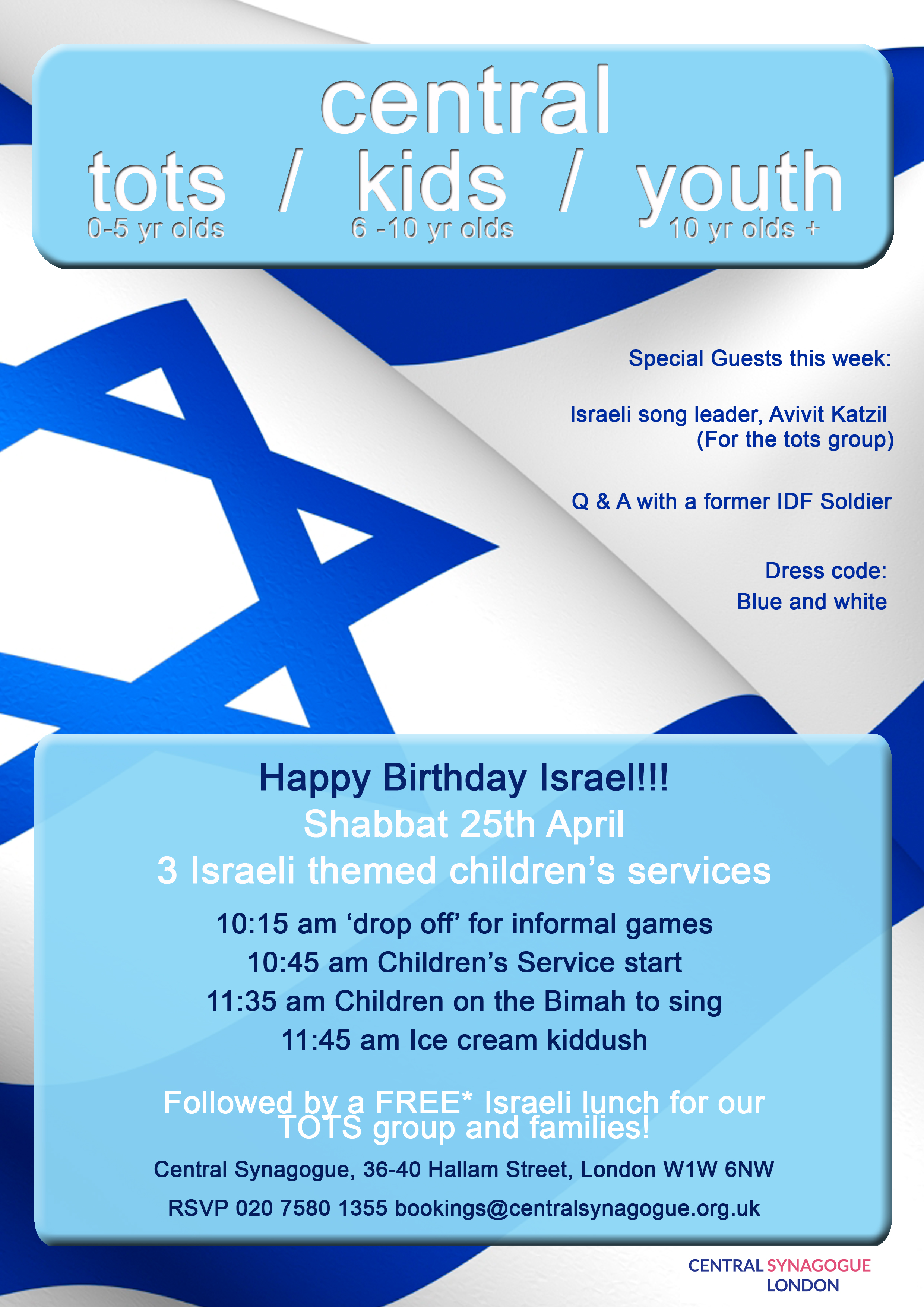 Children's services Israel theme 25 Apr copy