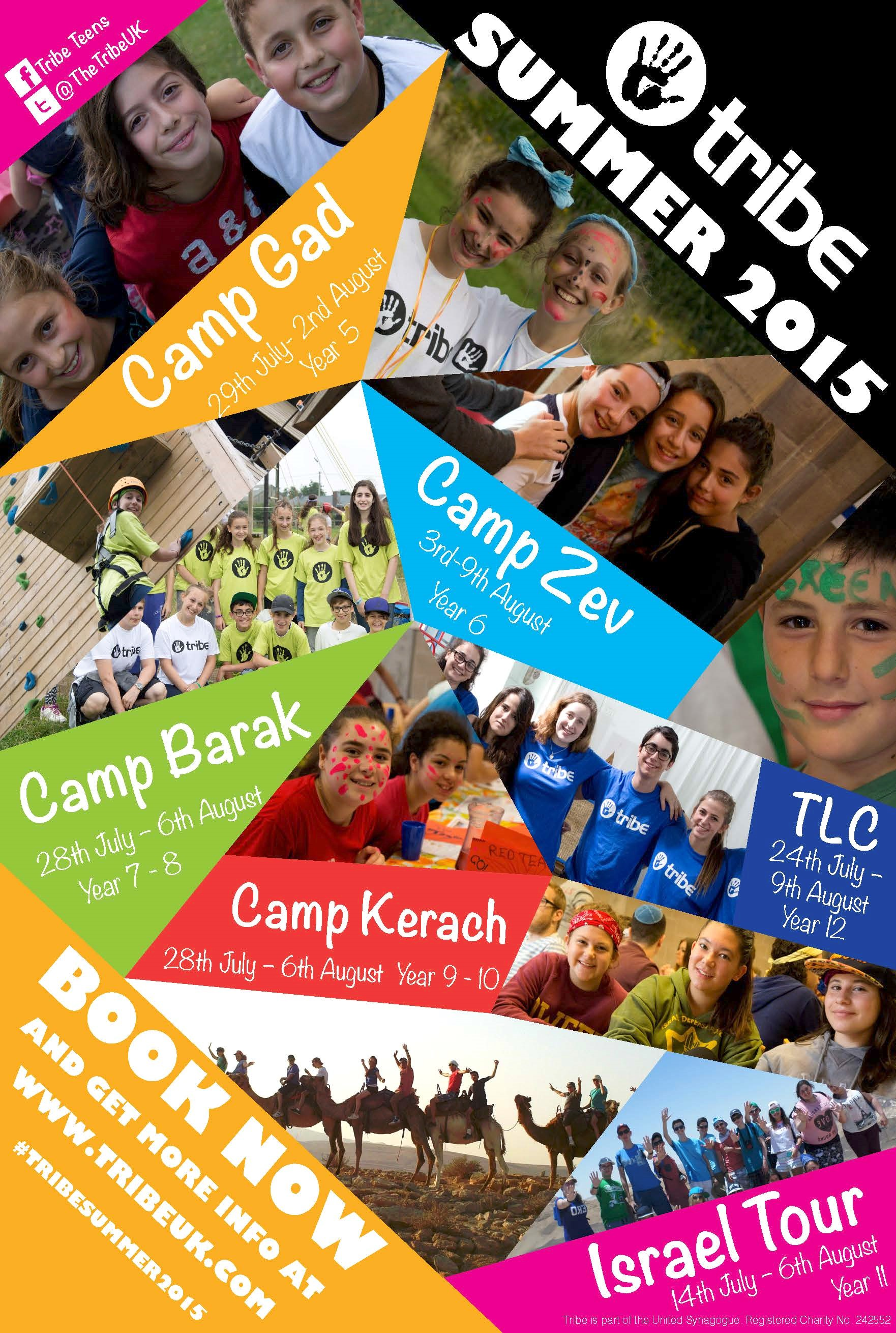 tribe summer camps 2015
