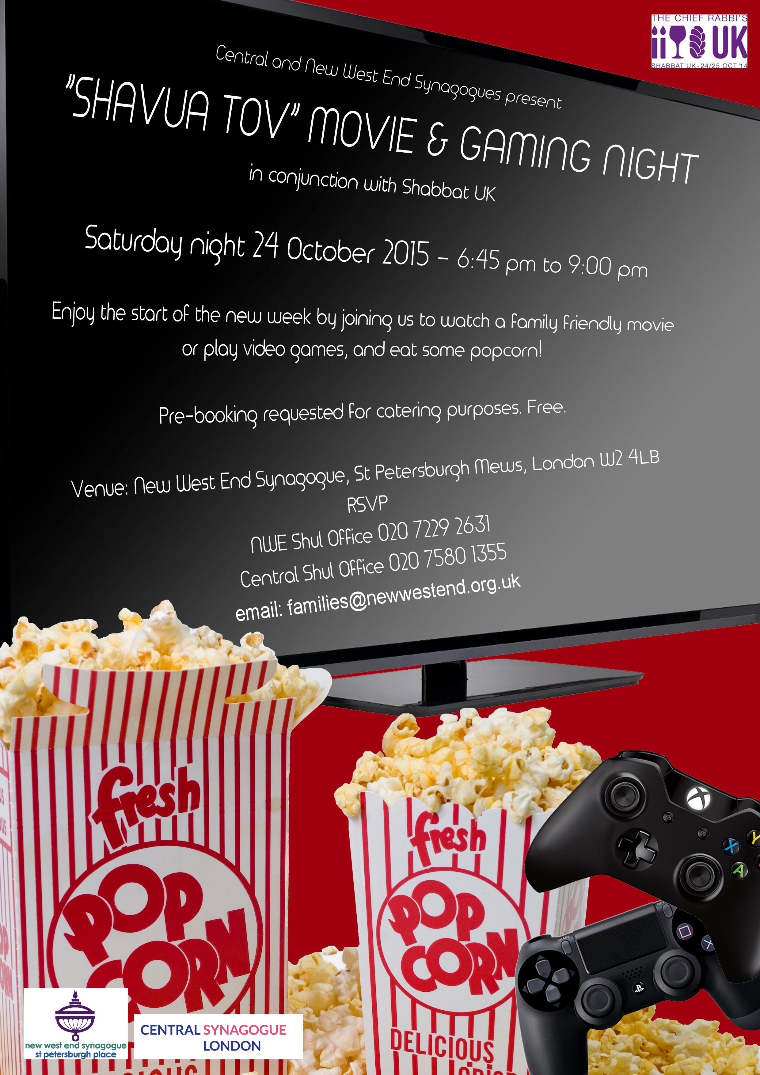 Shabbat UK Motzei gaming night copy
