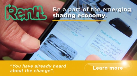 Rentl - Be part of the emerging Sharing economy