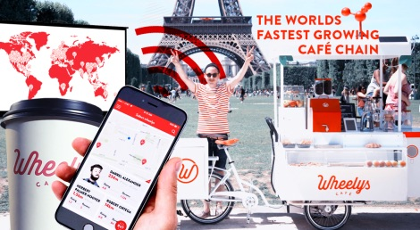 Wheelys Café - worlds' fastest growing café chain