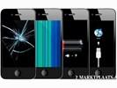 IPhone 4S 4 3GS reparatie Glas lcd display