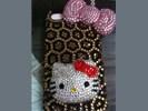Nieuw! Bling Iphone 4/4S hoes met diamanten!