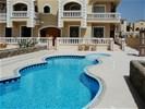Appartement Egypte, Hurghade Mubarak 7 met Prive Zwembad.