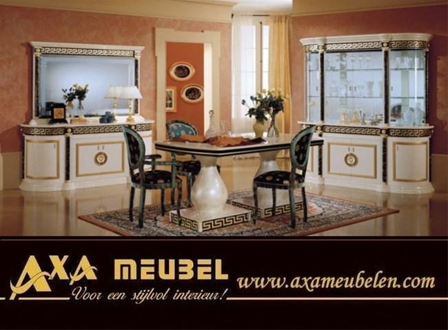 Italiaans hoogglans versace woonkamer woiss meubels den haag