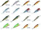 16 pluggen kunstaas vis spullen vissen set 2
