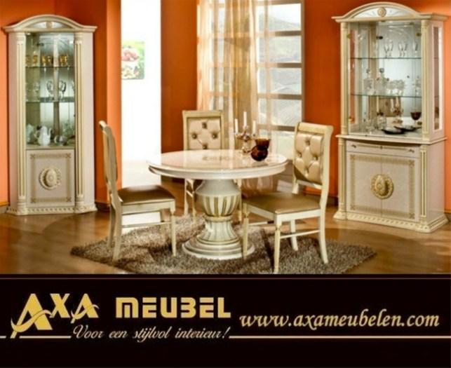 Italiaans Meubel Design : Slaapkamer klassiek italiaanse hoogglans bruin marmer luxe set