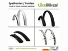Spatborden, fenderset voor fiets en cruiserbike LikeBikes!