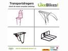 Fietstransportdragers voor- en achterdrager LikeBikes!
