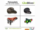 Fietszadel cruiserzadel bijzondere fietszadels LikeBikes!