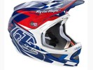 BMX Troy Lee D3 Helmet Team Blue/White 2013