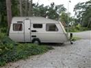 Prachtige Kip caravan de luxe