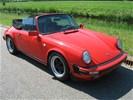 Klassieke Porsche 911 cabrio trouwauto