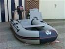 Te koop zeer nette rubberboot met motor