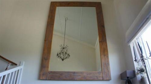 Grote Spiegel Hout.Grote Spiegel Spiegel Groot 1 60 Bij 2 80 Ongeveer Hout