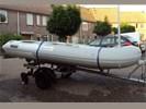 Rubberboot 3.30 + BB Motor + Trailer en toebehoren