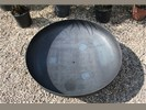 Sfeervolle vuurschaal/vuurkorf 85 cm diameter met handvaten