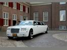 Trouwauto, trouwvervoer, limo, limousine, trouwen, bruiloft