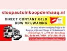 Sloopauto inkoop Den Haag een ijzersterk bedrijf
