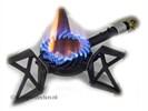 Beveiligde powerfire wokbrander 9,5 kW gaskomfoor 3 of4 poot