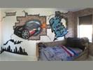 Graffiti, graffiti muurschilderingen, graffiti kinderkamer