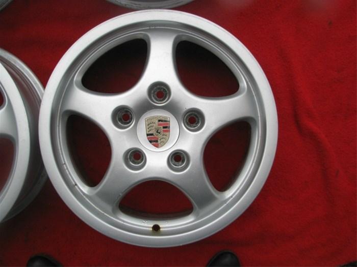 Porsche Cup 1 Velgen 16 Inch Orgineel