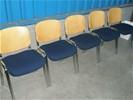 1x SET van 5 stoelen