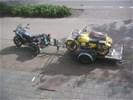 "Moto Guzzi NESVILLE Trike + ""BIKERSONG MASTER"""