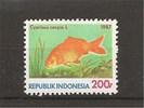 Vis cyprinus carpio, uit Indonesie