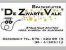 "Spackspuiten door spackspuiter ""De Zwarte Valk"""