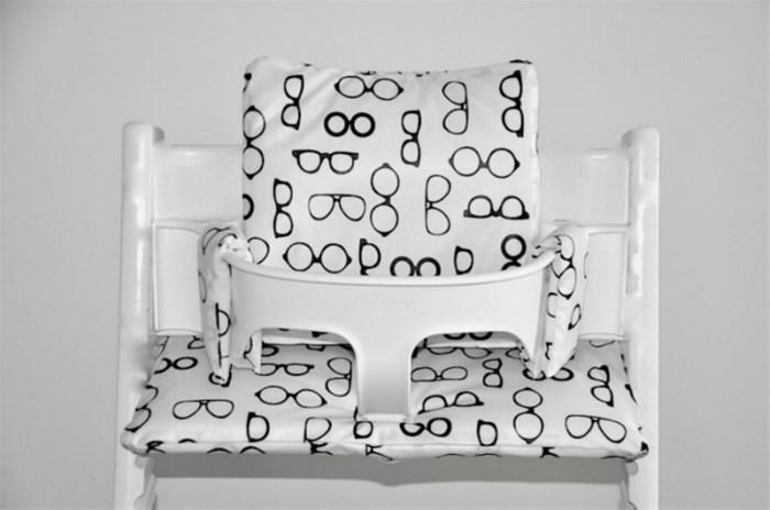 Wonderbaarlijk Stokke tripp trapp stoelverkleiner kussen gecoat 'brillen' UV-24