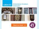 Wekelijkse klokkenveiling, bieden vanaf € 1,- !