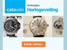 Wekelijkse Horlogeveiling bij Catawiki - bieden vanaf € 1,-