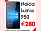 Nokia Lumia 950. Hoge vergoeding, snel & betrouwbaar