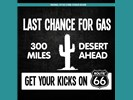 Sticker Last Chance For Gas: Wit