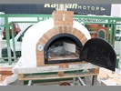 Pizzaoven TRADITIONAL houtgestookte steenoven