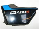 HONDA CB400N Zijkap Links Zwart